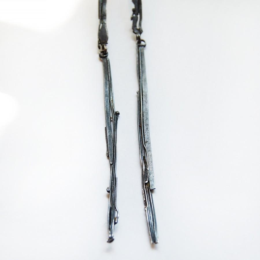 Icicle earrings