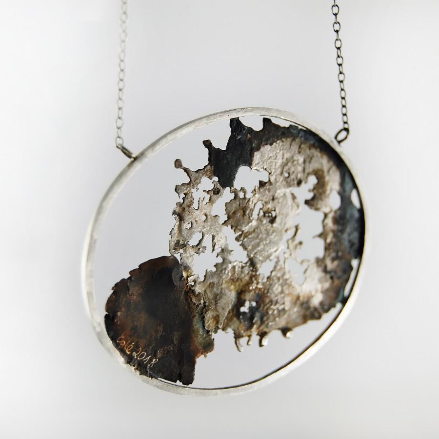 Landscape necklace